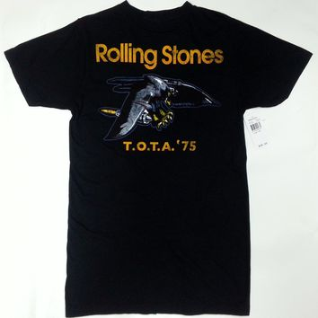 Rolling Stones 1975 TOUR OF THE AMERICAS EAGLE T-Shirt NWT 100% Authentic RARE!!