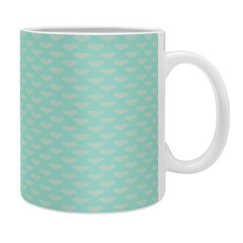 Allyson Johnson Blue Hearts Coffee Mug