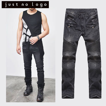 Black Designer Fashion Jeans
