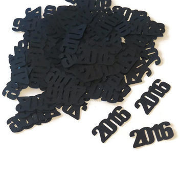 2016 confetti, New Years Eve party decorations, year, numbers, anniversary, wedding, baby shower, retirement, 100 pieces