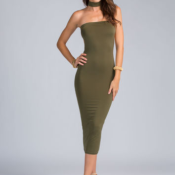 All Choked Up Bodycon Dress GoJane.com