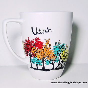 Utah Skyline Mug - Long Distance