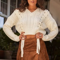 Always Scattered Camel Suede Mini Skirt