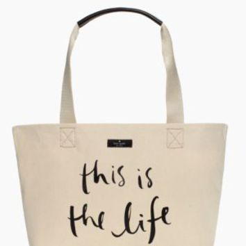 Kate Spade This Is The Life Tote
