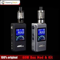Original Kamry 60 Vape 7~ 60W Box Mod Kit with TFT Screen mod VS Vaporesso Estoc Tank Vaporizer Electronic Cigarette E Hookah