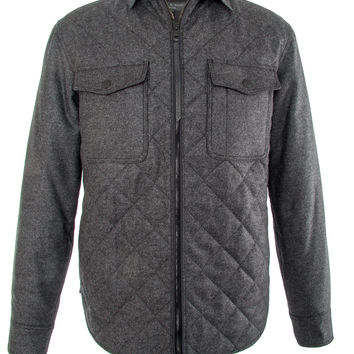 Rag & Bone Dark Grey Grant Shirt