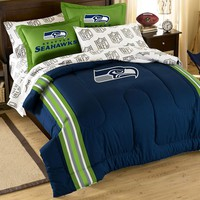 Seattle Seahawks 5-piece Full Bed Set
