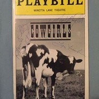 Cowgirls Playbill