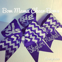 Big Sis Lil Sis Cheer Bows