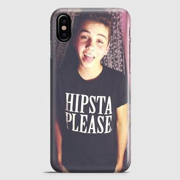 Sam Pottorff And Kian Lawley iPhone X Case