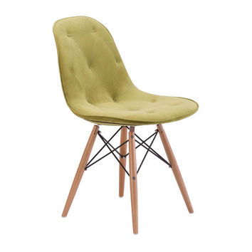 Probability Dining Chair Green Wood