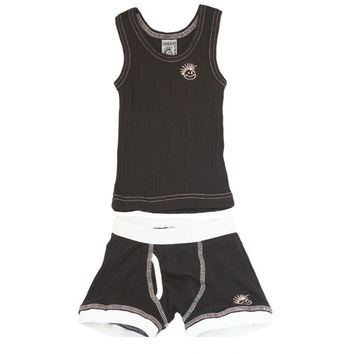 Skivvies Set - Black