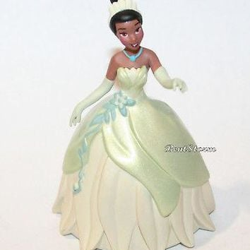 Licensed cool Disney Princess Tiana and the Frog Light Green Dress Christmas Ornament PVC NEW