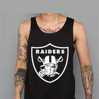 Men's Oakland Raiders Tank Top