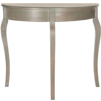 Rimon Console, Gray/Green, Console Table