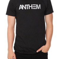 Hot Topic Men's Anthem Made Logo Slim Fit T-Shirt