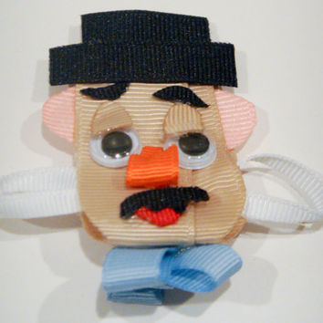 Toy Story Mr. Potato Head Ribbon Sculpture Hair Clip