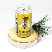 Local Buzz Beer Can Candle