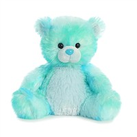 Little Blueberrydrop the Bright Blue Teddy Bear by Aurora