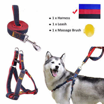 A large / medium / small dogs / training and daily walk training Adjustable Heavy dog cowboy traction rope free shipping
