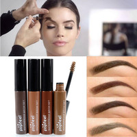 Brand Makeup Eye Brow Gel Coffee Black Brown Paint Eyebrows Gel Waterproof Eyebrow Tint Mascaras Kit Sobrancelha