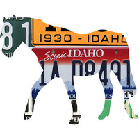Idaho License Plate Horse