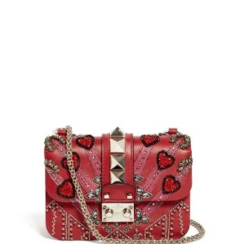 Lock Love Blade leather cross-body bag | Valentino | MATCHESFASHION.COM US