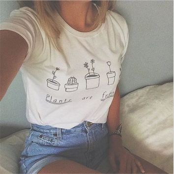 Tops and Tees T-Shirt Friends Tv Female T-shirt Casual Best Friend Letter Print  Tee Women  T Shirts Vogue Hipster Summer  For Womens 018 AT_60_4 AT_60_4