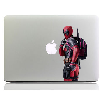 "Deadpool Superheros Colorful Laptop Sticker for Nptebook 11"" 12"" 13"" 15""  Mac MacBook Decal Air/Pro/Retina Chromebook Art Skin"