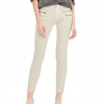 Banana Republic Womens Zip Pocket Skinny Ankle Cord