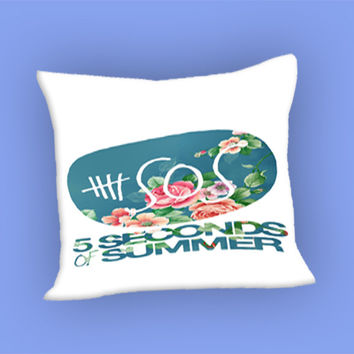 5SOS Vintage Logo for Pillow Case, Pillow Cover, Custom Pillow Case **