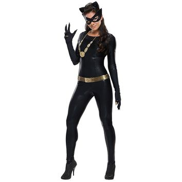 Batman Classic 1966 Series Grand Heritage Catwoman Costume - Adult (Blue)