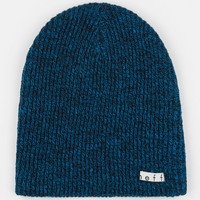 Neff Daily Heather Beanie Black/Blue One Size For Men 24589618401