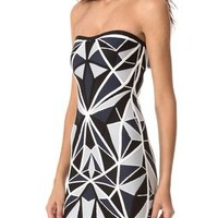 Herve Leger Jamari Strapless Dress | SHOPBOP