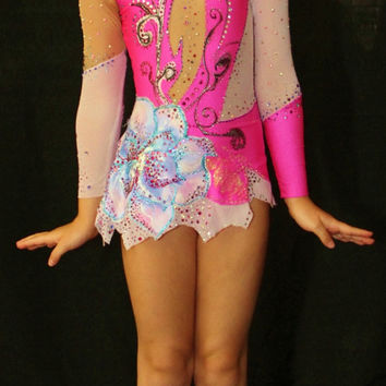 Rhythmic Gymnastics Leotard /Figure Skating Dress- SOLD