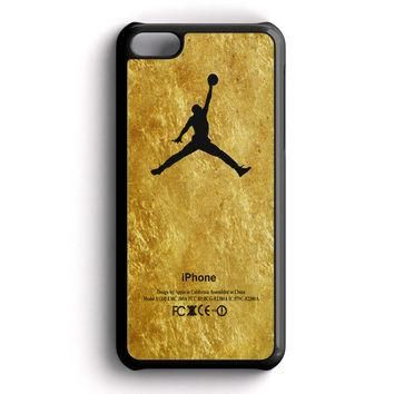 Michael Jordan Golden Gold Pattern iPhone 5C Case