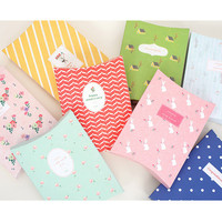 Livework Patterned gift paper bag small set of 8 styles ver.2