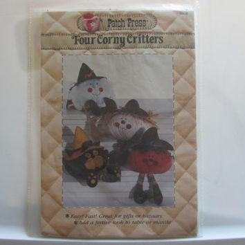 Four Corny Critters Pattern by Patch Press