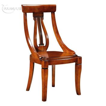 Pair of Biedermeier Style Designer Accent Chairs . FREE SHIPPING