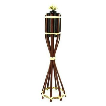 Outdoor Festivities Stature Wicker Tiki Torch Set of 25 Pack