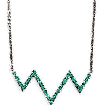 Women's Nadri ZigZag Pendant Necklace