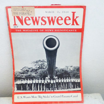 Newsweek magazine, newsweek magazine cover, vintage magazine ads, vintage style magazine, world war 2 era, world war 2 history