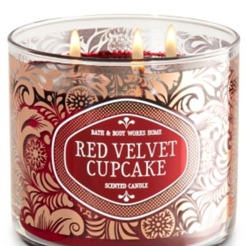 3-Wick Candle Red Velvet Cupcake