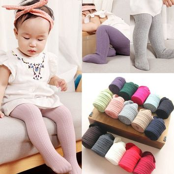 Pudcoco Baby Girl Tights Toddler Infant Kids Girls Cotton Warm Pantyhose Stockings Tights 0-6Y  tights for girls
