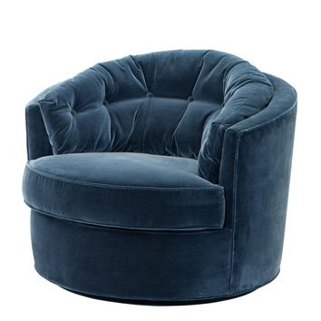 Art Deco Velvet Chair | Eichholtz Recla