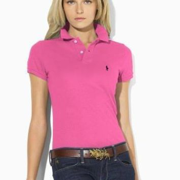 NEW POLO RALPH LAUREN SHIRT WOMEN SHORT SLEEVE T-SHIRT-1