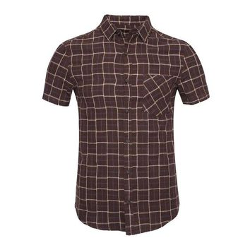 Nuterol Men's Button Down Short Sleeve