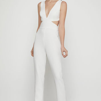 Sleeveless Cutout Back Jumpsuit