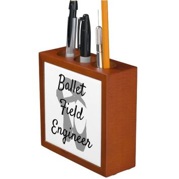 Ballet Field Engineer Desk Organizer