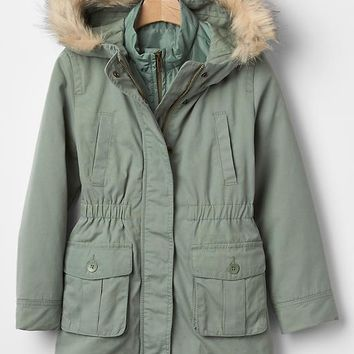 Gap Girls 3 In 1 Parka